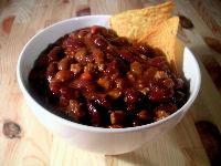 Chili con Carne als Liebesspeise