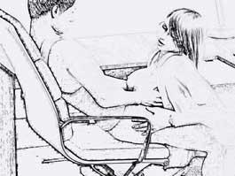 Frau beim masturbieren